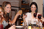 Vanessa Minnillo dines with friends celebrating a  bacherlorette party, at Dos Caminos restaurant, located at the Palazzo, Las Vegas NV, April 1, 2010 © Al Powers / RETNA ltd