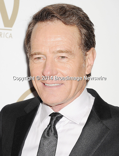 Pictured: Bryan Cranston                                                  <br /> Mandatory Credit &copy; Joseph Gotfriedy/Broadimage<br /> 25th Annual Producers Guild Awards<br /> <br /> 1/19/14, Beverly Hills, California, United States of America<br /> <br /> Broadimage Newswire<br /> Los Angeles 1+  (310) 301-1027<br /> New York      1+  (646) 827-9134<br /> sales@broadimage.com<br /> http://www.broadimage.com