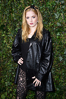 Ellie Bamber<br /> arriving for the 2018 Charles Finch & CHANEL Pre-Bafta party, Mark's Club Mayfair, London<br /> <br /> <br /> ©Ash Knotek  D3380  17/02/2018