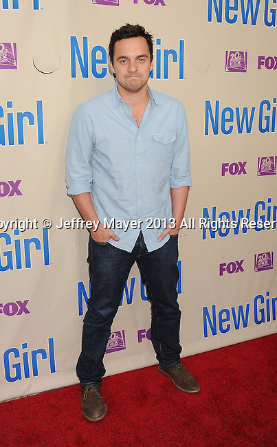 NORTH HOLLYWOOD, CA- APRIL 30: Actor Jake Johnson attends the FOX's 'New Girl' special screening at Leonard H. Goldenson Theatre on April 30, 2013 in North Hollywood, California.