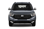 Car photography straight front view of a 2017 Dacia Lodgy Stepway 5 Door Mini Van
