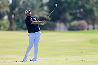 Shane Lowry (IRL) on the 13th fairway during the 2nd round of the Abu Dhabi HSBC Championship, Abu Dhabi Golf Club, Abu Dhabi,  United Arab Emirates. 17/01/2020<br /> Picture: Fran Caffrey   Golffile<br /> <br /> <br /> All photo usage must carry mandatory copyright credit (© Golffile   Fran Caffrey)