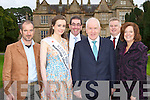 Launching The Gathering calendar of events in Muckross House on Saturday was l-r: Damian Foxhall Volvo Ocean Race winner, Ann Marie Hayes Kerry Rose, Tom Curran County Manager, Jimmy Deenihan Minister for Arts, Heritage, and The Gaelteacht, Pat Dawson Muckross House and Jemmy De Saulies Fáilte Ireland.
