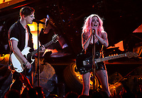 LOS ANGELES- MARCH 14: Yungblud and Halsey appear on the 2019 iHeartRadio Music Awards at the Microsoft Theater on March 14, 2019 in Los Angeles, California. (Photo by Frank Micelotta/Fox/PictureGroup)