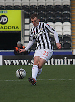 David Barron in the St Mirren v Ross County Clydesdale Bank Scottish Premier League match played at St Mirren Park, Paisley on 19.1.13.