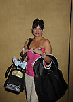 As The World Turns - Julie Pinson - supporting actress nominee in the gifting suite at the 38th Annual Daytime Entertainment Emmy Awards 2011 held on June 19, 2011 at the Las Vegas Hilton, Las Vegas, Nevada. (Photo by Sue Coflin/Max Photos)