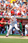 5 September 2005: Jose Guillen, outfielder for  the Washington Nationals, at bat against the Florida Marlins. The Nationals defeated the Marlins 5-2 at RFK Stadium in Washington, DC, maintaining a close race for the NL Wildcard spot. Mandatory Photo Credit: Ed Wolfstein.