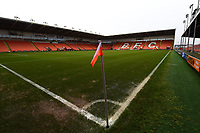 General View of Bloomfield Road, home of Blackpool FC<br /> <br /> Photographer Richard Martin-Roberts/CameraSport<br /> <br /> The EFL Sky Bet League One - Blackpool v Walsall - Saturday 10th February 2018 - Bloomfield Road - Blackpool<br /> <br /> World Copyright &not;&copy; 2018 CameraSport. All rights reserved. 43 Linden Ave. Countesthorpe. Leicester. England. LE8 5PG - Tel: +44 (0) 116 277 4147 - admin@camerasport.com - www.camerasport.com