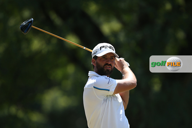 John Parry (ENG) plays from the 9th during Round Three of the Tshwane Open 2015 at the Pretoria Country Club, Waterkloof, Pretoria, South Africa. Picture:  David Lloyd / www.golffile.ie. 14/03/2015