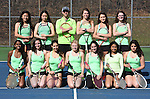 4-14-16, Huron High School girl's varsity tennis team