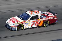 Feb 29, 2008; Las Vegas, NV, USA; NASCAR Sprint Cup Series driver Joe Nemechek during practice for the UAW Dodge 400 at Las Vegas Motor Speedway. Mandatory Credit: Mark J. Rebilas-US PRESSWIRE