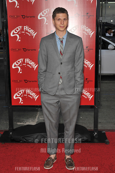 "Michael Cera at the world premiere of his new movie ""Scott Pilgrim vs. The World"" at Grauman's Chinese Theatre, Hollywood..July 27, 2010  Los Angeles, CA.Picture: Paul Smith / Featureflash"
