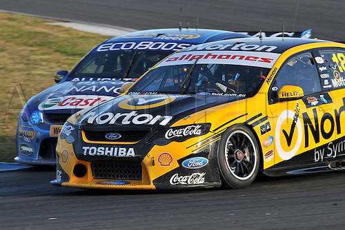 26.08.2012 Eastern Creek,Australia.  Action during the V8 Supercar Championship at the Sydney Motorsport Park,Australia