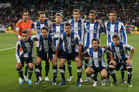 24.03.2012 SPAIN -  La Liga matchday 30th  match played between Real Madrid CF vs Real Sociedad (5-1) at Santiago Bernabeu stadium. The picture show Real Sociedad Team Group Liune-up