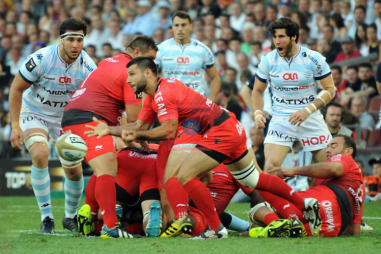 Ligue Nationale de Rugby.<br /> TOP 14 - FINALE.<br /> Toulon vs Racing 92: 21-29.
