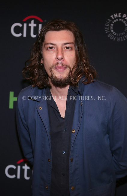 www.acepixs.com<br /> <br /> October 19 2016, New York City<br /> <br /> Actor Benedict Samuel attending PaleyFest New York 2016 presents 'Gotham' at The Paley Center for Media on October 19, 2016 in New York City.<br /> <br /> By Line: Serena Xu/ACE Pictures<br /> <br /> <br /> ACE Pictures Inc<br /> Tel: 6467670430<br /> Email: info@acepixs.com<br /> www.acepixs.com