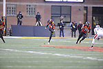23 NOVEMBER 2014:   Syracuse University takes on the University of Connecticut during the Division I Women's Field Hockey Championship held at the Field Hockey & Lacrosse Complex in College Park, MD.  defeated for the national title.  Greg Fiume/NCAA Photos