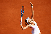 4th June 2017, Roland Garros, Paris, France; French Open tennis championships;   MAGDA LINETTE (POL)  during day seven match of the 2017 French Open on June 4, 2017, at Stade Roland-Garros in Paris, France.