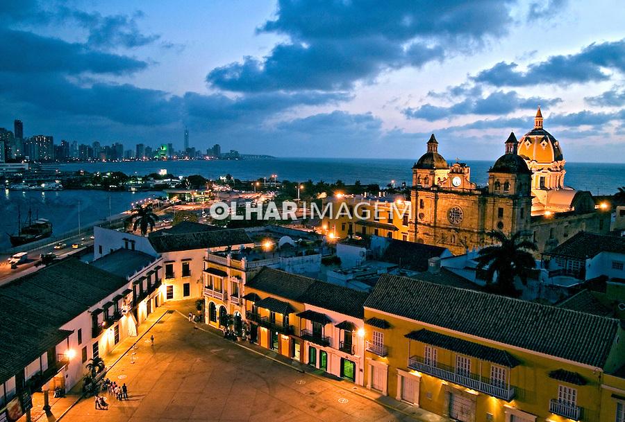 Centro histórico de Cartagena. Colombia. 2007. Foto de Rogério Reis.