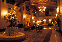 lobby, hotel, Toronto, Canada, Ontario, Interior of the Royal York Hotel in downtown Toronto.