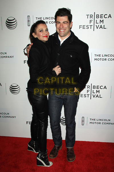 NEW YORK, NY - APRIL 17: Tess Sanchez, Max Greenfield attends the 2014 Tribeca Film Festival Premiere of &quot;About Alex&quot; at the Tribeca Performing Arts Center on April 17, 2014 in NEW YORK CITY<br /> CAP/LNC/TOM<br /> &copy;LNC/Capital Pictures