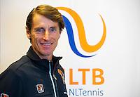 Januari 27, 2015, Apeldoorn, Omnisport, Pressconference Fed Cup, Captain Paul Haarhuis anounces the team, <br /> Photo: Tennisimages/Henk Koster