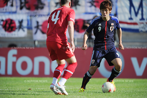 Yuya Osako (JPN),.MAY 23, 2012 - Football / Soccer :.2012 Toulon Tournament Group A match between U-21 Turkey 2-0 U-23 Japan at Stade Perruc in Hyeres, France. (Photo by FAR EAST PRESS/AFLO)