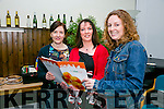 "At the "" Food Share Kerry "" launch in the ITT restaurant on Friday were l-r  Sophie Price, IT Tralee, Collette Price, Tralee Soup Kitchen and Dawn Roberts, Tralee Soup Kitchen."