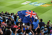 8th February 2019, Eden Park, Auckland, New Zealand;  Fans and supporters. New Zealand v India in the Twenty20 International cricket, 2nd T20.