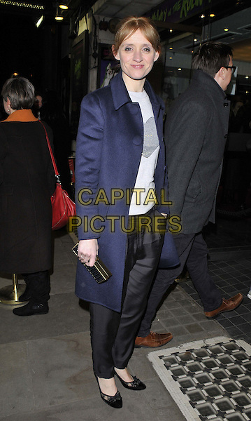 LONDON, ENGLAND - JANUARY 28: Anne-Marie Duff attends the &quot;The Ruling Class&quot; gala night, Trafalgar Studios, Whitehall, on Wednesday January 28, 2015 in London, England, UK. <br /> CAP/CAN<br /> &copy;CAN/Capital Pictures
