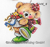 CHRISTMAS ANIMALS, WEIHNACHTEN TIERE, NAVIDAD ANIMALES, paintings+++++,KL6146/6,#xa#