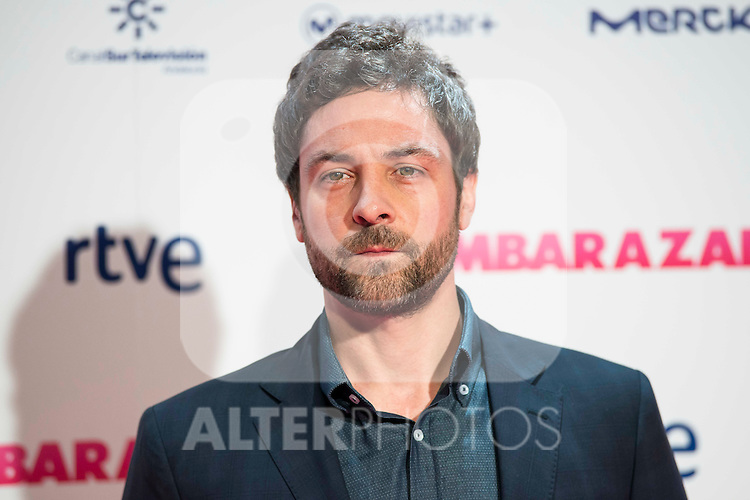 I&ntilde;aki Font attends to the premiere of the film &quot;Embarazados&quot; at Capitol Cinemas in Madrid, January 27, 2016.<br /> (ALTERPHOTOS/BorjaB.Hojas)