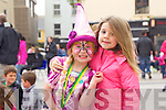 Nicole Hartnett and Chloe Lacey from Tralee at Feile na Bláth at Tralee Square on Saturday