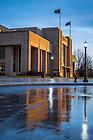 January 22, 2018; Purcell Pavilion exterior (Photo by Matt Cashore/University of Notre Dame)
