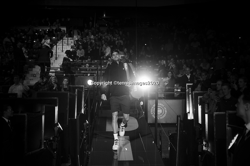 Rotterdam, The Netherlands, 10 Februari 2020, ABNAMRO World Tennis Tournament, Ahoy, Grigor Dimitrov (BUL).<br /> Photo: www.tennisimages.com