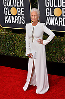 LOS ANGELES, CA. January 06, 2019: Jamie Lee Curtis at the 2019 Golden Globe Awards at the Beverly Hilton Hotel.<br /> Picture: Paul Smith/Featureflash