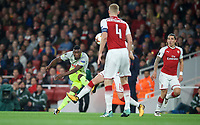 Jhon Cordoba of FC Koln scores his goal to make it 1 0 during the UEFA Europa League match between Arsenal and FC Koln at the Emirates Stadium, London, England on 14 September 2017. Photo by Andrew Aleks.
