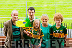 GAA fans<br /> ------------<br /> L-R Denis,Seamus&amp;Maebh O'Connor,Christine O'Mahon with Paul Walsh all from Brosna who travelled to Dungarvan last Saturday for the All Ireland junior championship semi final between kerry and Wexford