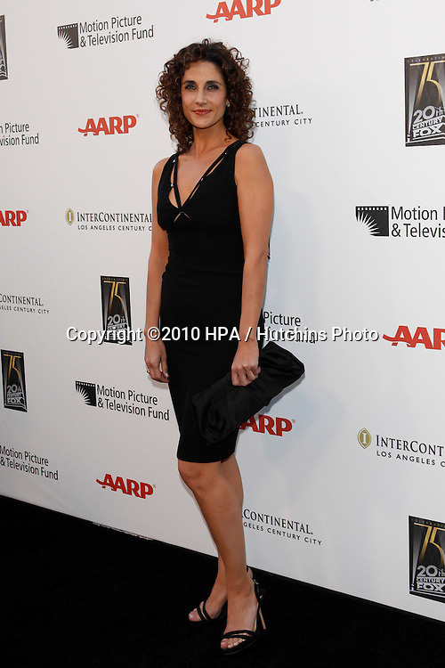"Melina Kanakaredes.arrives at ""A Fine Romance"" -  2010.Sony Pictures Studios.Culver City, CA.May 1, 2010.©2010 HPA / Hutchins Photo..."