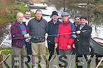 FISHERMEN: Getting prepared for the new Salmon season in Killarney on Tuesday were, l-r: John Lyne, Robert OBrien Jnr, John Buckley, Mike OConnor, Corey OFlaherty, Batty OBrien and Robbie OBrien Snr. .