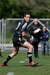 Mike Harris playing for New Zealand Secondary Schools rugby team in their warmup game against a Harlequins selection, played at Hamilton on 4th October 2006.