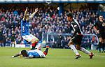 02.02.2019 Rangers v St Mirren: Jermain Defoe fouled for penalty