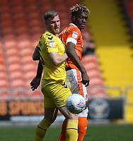 Fleetwood Town's Ashley Eastham and Blackpool's Armand Gnanduillet<br /> <br /> Photographer Stephen White/CameraSport<br /> <br /> The EFL Sky Bet League One - Blackpool v Fleetwood Town - Monday 22nd April 2019 - Bloomfield Road - Blackpool<br /> <br /> World Copyright © 2019 CameraSport. All rights reserved. 43 Linden Ave. Countesthorpe. Leicester. England. LE8 5PG - Tel: +44 (0) 116 277 4147 - admin@camerasport.com - www.camerasport.com<br /> <br /> Photographer Stephen White/CameraSport<br /> <br /> The EFL Sky Bet Championship - Preston North End v Ipswich Town - Friday 19th April 2019 - Deepdale Stadium - Preston<br /> <br /> World Copyright © 2019 CameraSport. All rights reserved. 43 Linden Ave. Countesthorpe. Leicester. England. LE8 5PG - Tel: +44 (0) 116 277 4147 - admin@camerasport.com - www.camerasport.com