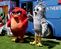 """LOS ANGELES - AUG 10:  Angry Bird, Characters at the """"The Angry Birds Movie 2"""" at the Village Theater on August 10, 2019 in Westwood, CA"""