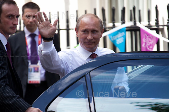 The President of Russia Vladimir Putin.<br />