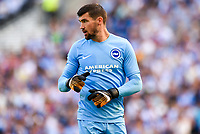 Mathew Ryan Goalkeeper of Brighton & Hove Albion (1) during the pre season friendly match between Brighton and Hove Albion and Atletico Madrid at the American Express Community Stadium, Brighton and Hove, England on 6 August 2017. Photo by Edward Thomas / PRiME Media Images.