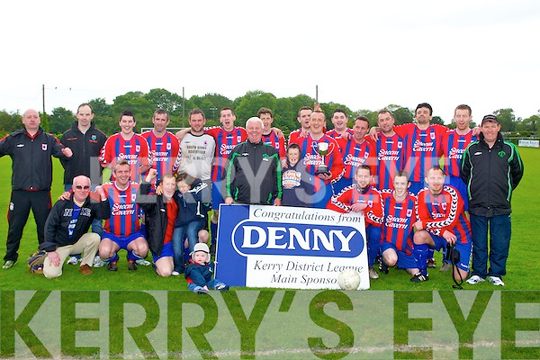 CHAMPIONS: The Sneem Santos team winner's of the Denny Division 2A Final at Mounthawk Park, Tralee on Sunday.