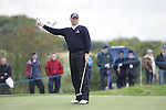 Graeme Storm misses his put at the end of Fridays Fourball's at the Seve Trophy on the 28th of September 2007 at the The Heritage Golf & Spa Resort, Killenard, Co Laois, Ireland. (Photo by Manus O'Reilly/NEWSFILE)