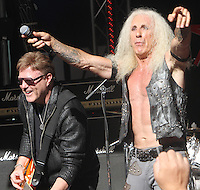NEW YORK, NY-September 02: Jay Jay French, Dee Snider,of Twisted Sister performed on Fox & Friends All-American Summer Concert Series in New York. NY September 02, 2016. Credit:RW/MediaPunch