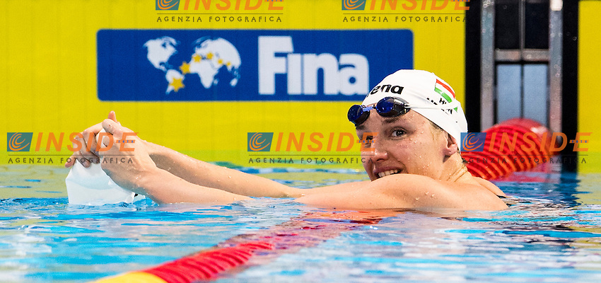 HOSSZU Katinka HUN Gold Medal<br /> Women's 100m Individual Medley<br /> 13th Fina World Swimming Championships 25m <br /> Windsor  Dec. 9th, 2016 - Day04 Finals<br /> WFCU Centre - Windsor Ontario Canada CAN <br /> 20161209 WFCU Centre - Windsor Ontario Canada CAN <br /> Photo &copy; Giorgio Scala/Deepbluemedia/Insidefoto